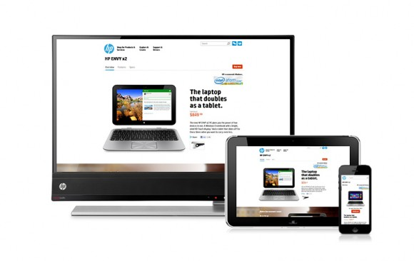 HP.com Product Showcases