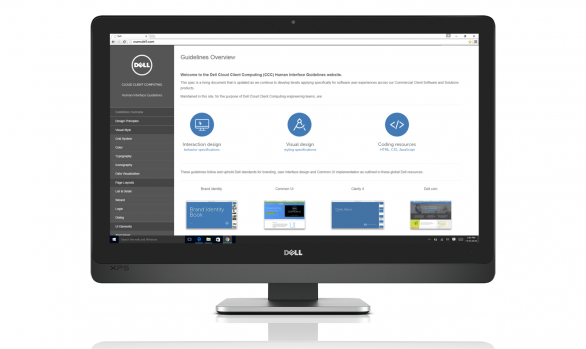 Dell Cloud Client Computing Human Interface Guideline